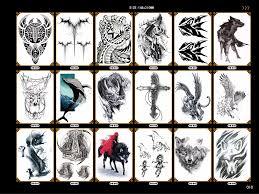 Valentinky Den Dárek Pro Přítele Kruté Tatoo Nálepky Vlk Orlice Drak Rameno Rukávy Tělo Umění Make Up Tatouage Tetování Samolepky