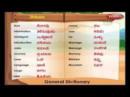 Learn Kannada Through English Lesson 6 Spoken Kannada