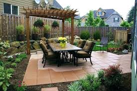 Landscape Design For Small Backyards Cool Inspiration Design