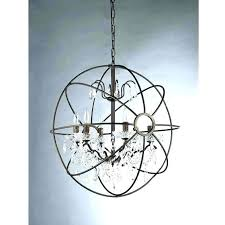large metal orb chandeliers metal orb chandelier orb chandelier with crystals crystal orb chandelier chrome finish