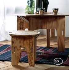 simple mini stool yoka panel stool fashion deep wooden natural modern antique stool side table mini table low table mail order furniture round