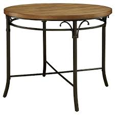 industrial counter height table. IoHomes Willson Industrial Round Counter Height Table - Bronze