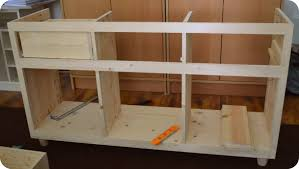 Homemade Kitchen How To Build Kitchen Cabinets Mjschiller