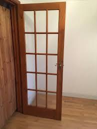internal wooden double doors with glass panels in addlestone surrey gumtree
