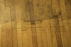 refinished floor and original finish