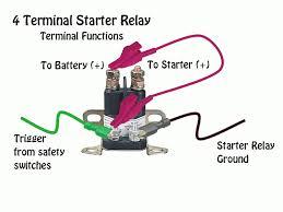 4 post starter solenoid wiring free