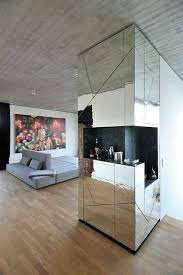 Small Picture Glamorous Penthouse Interior Design With Mirrored Walls and Furniture