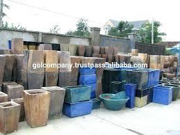 tall outdoor pots tall pots whole tall square rustic copper pots big trough garden planters high tall outdoor pots