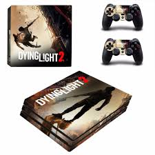 Dying Light Playstation 4 Store Us 9 39 6 Off Dying Light 2 Ps4 Pro Skin Sticker For Sony Playstation 4 Console And Controllers Ps4 Pro Skin Stickers Decal Vinyl In Stickers From