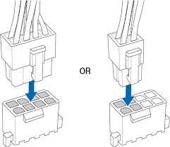 can i use 4 pin in a 8 pin socket solved motherboards second illustration