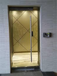 clear glass office door