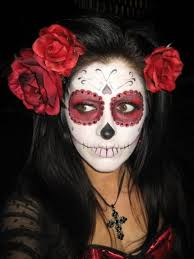 day of the dead makeup for this uping