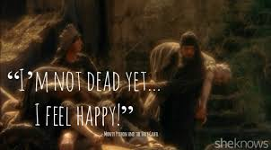 """15 Best quotes from """"Monty Python and the Holy Grail – SheKnows"""