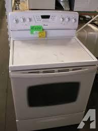 stove glass amana top
