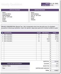 Maintenance Quotation Template For Excel | Quotation Templates ...