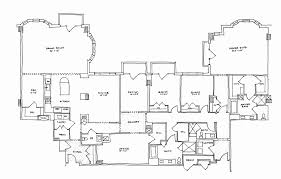 duplex floor plans single story lovely single story luxury home plans awesome 4 bedroom duplex house