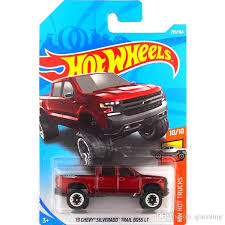 2019 Hot Wheels Chevrolet Offroad Pickup Car Model Toy 299 From ...