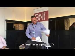 Bni 10 Minute Presentation In 3 Minutes Youtube