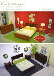 Sims Bedroom Saudade Sims O Mels Bedroom Meshes By Saudadesims This Set Is