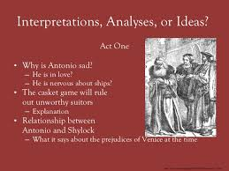the merchant of venice 9 interpretations analyses or ideas