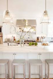 All White Kitchen The White And Bright Kitchen The Chriselle Factor