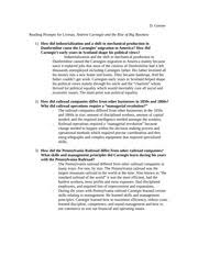 andrew carnegie study resources 5 pages essay prompt questions and answers livesay