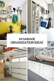 34 garage organization ideas cover