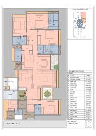 riviera one floor plan 4bhk legend