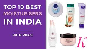 top 10 best moisturisers in india with 2017