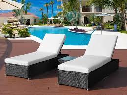 betalife rattan outdoor sun lounger set