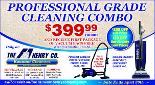 vacuum repair and retail merrillville in the henry company professional grade cleaning combo