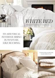 all white bedding. All White Bedding | Pottery Barn