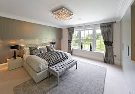 grey bedroom curtains. bedroom contemporary with suade kingsize bed grey curtains