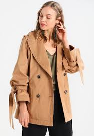 banana republic banana republic drama sleeve trenchcoat tan fg36779