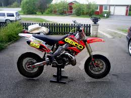 cr 250 supermoto build