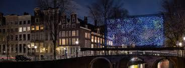 Van Gogh Museum Amsterdam Light Show Starry Night