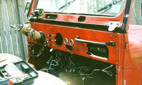swapping a cj dashboard into a yj part off road com seeing as there is now no dashpad the wiper motor is hanging from the windshield frame exposed looking at the cj wiper motor there is a nice cover