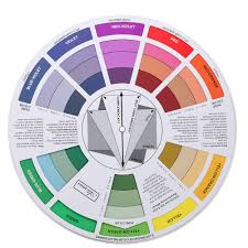Colour Wheel Chart Colors Us 3 56 25 Off Double Sides Tattoo Pigment Color Wheel Chart Color Mix Guide Supplies For Permanent Eyebrow Lip Round Tattoo Ink Color Wheel In