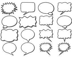 Photoshop Speech Bubble Speech Bubble Clip Art Speech Bubbles Thought Bubbles Etsy