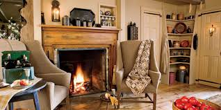 Primitive Country Living Room Fireplace Designs Fireplace Photos
