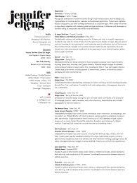 Graphic Design Resume Examples Inspiration Jennifer Cheng Graphic Designer Graphic Design Visual