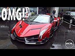 Million Lamborghini Veneno Roadster Spaceship Supercar Youtube