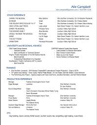 Resume Accent Resume Alison Hopkins Campbell 89
