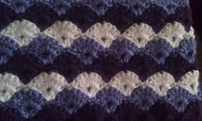 Sea Shell Afghan Crochet Pattern Amazing Design Inspiration