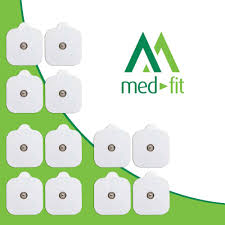 Med Fit Flexi Istim 12 X 3 5mm Stud Tens Self Adhesive Pads