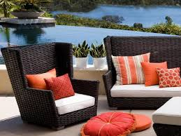 comfortable porch furniture. Image Of: Comfortable Outdoor Furniture With Wicker Sofa Porch C