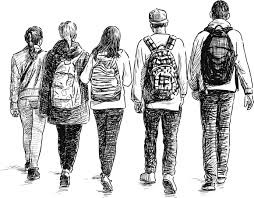 Image result for photos of teenagers standing in line waiting