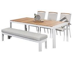 aluminium outdoor dining sets timor