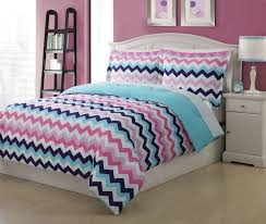 bedspread pink and blue chevron full size bedspreads comforters with colorful zigzag motif bedding set