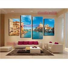 sofa living room decorative canvas painting fur